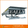 Hydraulic stable operating dock leveler customized color
