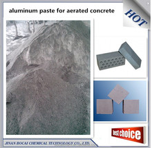 concrete dark aluminum paste for aac (aerated concrete) gas added brick