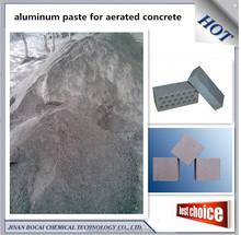 dark aluminum paste for aac (aerated concrete) gas added brick