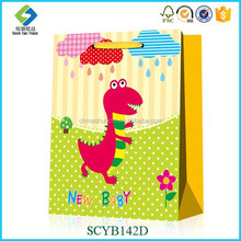 Lovely Animals Pattern Wholesale Handcraft Paper For New Baby