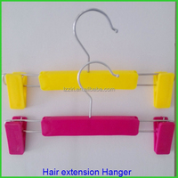 Luxury custom hair extension pvc bag with hanger