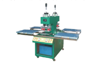 Four hydraulic double push plate rubber machine
