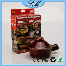 cooking pot Non-Stick Mini Steamer Casserole Stone Wave