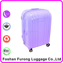 colorful amber carry-on fancy luggage
