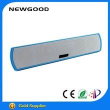 NEWGOOD subwoofer vibration diaphram bluetooth speaker for sd card 2015