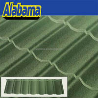 Waves Thermal Insulated Translucent Coat Decramastic Type Zink Warehouse Factory Nosen Construction Mosaic Roof Tile