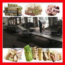 Cereales y granola barra de línea de producción