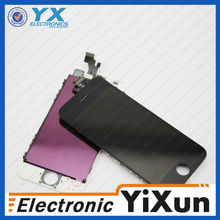 Black Touch Screen Digitizer + LCD Display Assembly for iPhone 5g Replacement