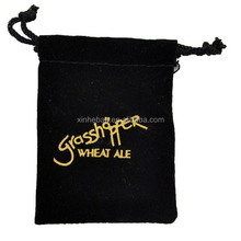 Customized Jewelry Velvet Drawstring Gift Bag Wholesale (directly from factory)