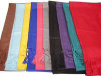 cheapest mix 20colors Solid color pashmina islamic shawl muslim long scarf