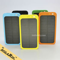 SINOTEK solar power bank charger new portable charger 5000mah for iphone 6 plus