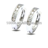 2014 latest trends silver earrings