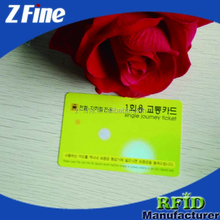Full Color Customized Printed pvc id card