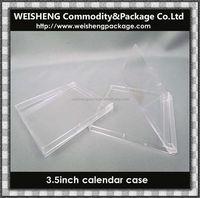 Best seller factory plastic disk calander case