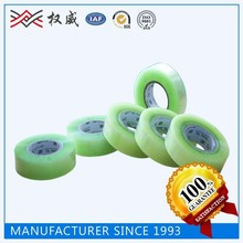 CLEAR COLORED ADHESIVE TAPE, CLEAR CARTON SEALING TAPE