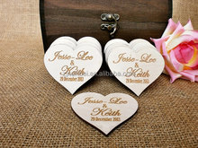 Laser cutting tiny wooden heart trinket,small wooden heart decoration