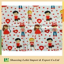 Digitally Printed On Cotton Lycra Knit Jersey Fabric 95/5