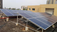 PV Module Photovoltaic solar power flat roof solar panel mounting system 3KW solar rooftop system