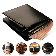 2015 New products tough leather wallet famous brand