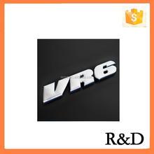 Todas as carros de nomes e logotipos VR6 emblemas emblemas 3D personalizado