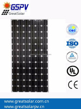 Hot sale! 325W sunpower flexible panel solar for boats, caravans, launch & mobile homes used with CE certified