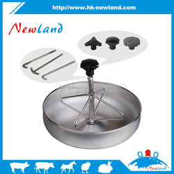 NL801 stainless steel pig feeding trough,pig feed trough
