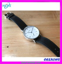 Quality modern womens White big dial watch for men slim watch digital