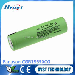 Original CGR18650CG li-ion battery 10A18650 rechargeable battery 2250mah CGR18650CG 3.7V battery with button top for flashlights