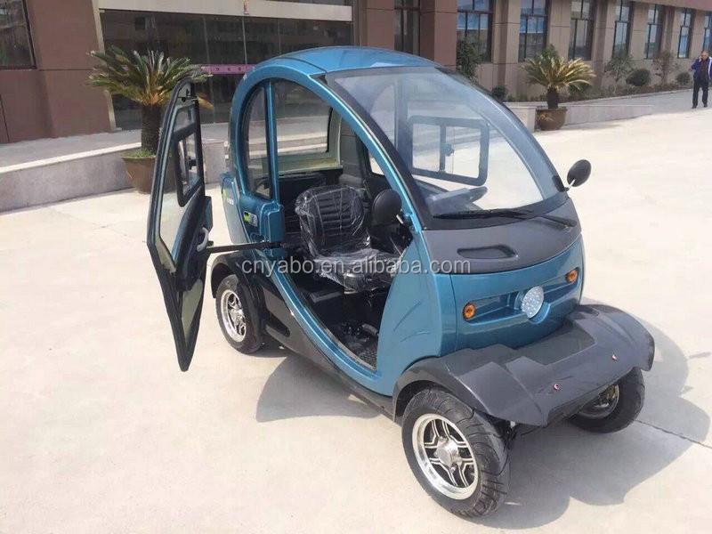 yabo chine 2016 nouveau 4 roues scooter lectrique enti rement clos scooter avec toit 1000 w 60. Black Bedroom Furniture Sets. Home Design Ideas