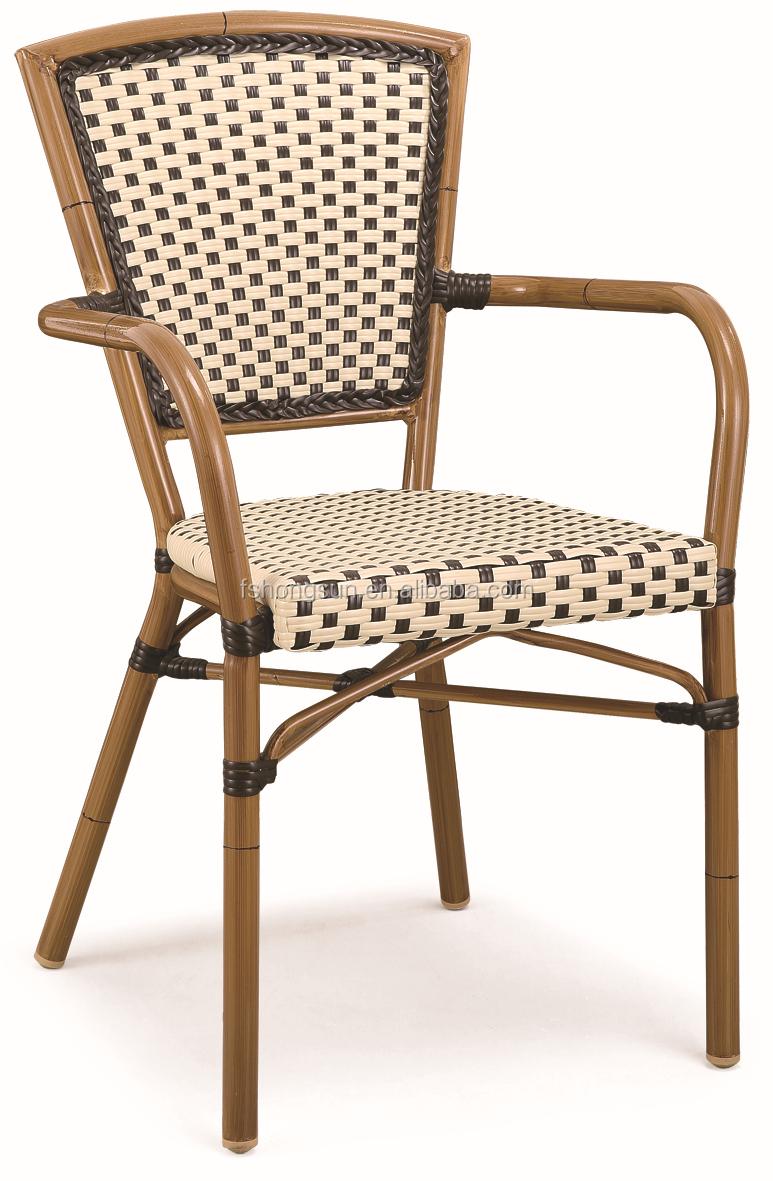 C042 df Outdoor Bamboo Look Restaurant Stackable Coffee Chair Buy Plastic S