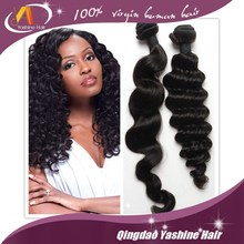 Qingdao Best Distributors Wholesale 7A Virgin Short Hair Weave 100% human brazilian hair bulk
