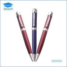 Promotion smartpen metal ballpoint pen paint brush metal pen factory
