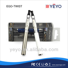 Alibaba best e cigarette ego twist starter kit