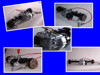 48V500W DC brushless rear axle motor for three wheels/ E-Tricycle Shift founction