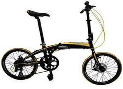 Alloy folding bike XC20