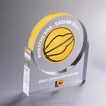 Custom wholesale high quality acrylic medal, plexiglass award, baseketball medal