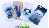 3D TPU custom mobile phone case cover for iphone Samsung