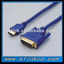 Wholesale price high quality HDMI to DVI cable with Ethernet