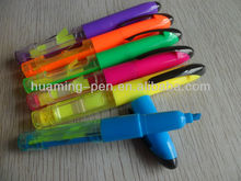 highlighter pen with note paper