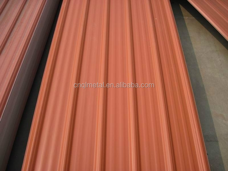 Best Roof Material Zinc Color Coated Steel Roof Sheets - Buy Color ...