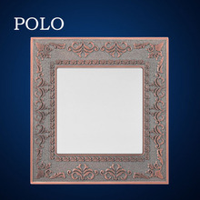 2015 hot cheap wholesale high quality zinc material Blank Plate