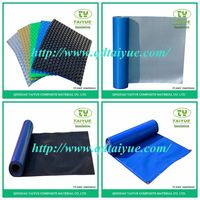 Waterproof bubble plastic insulation pool cover