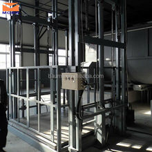 Wall mounted folding vertical table lift