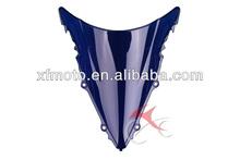For YAMAHA YZF R6 2003 2004 2005 Blue Wind Screen Windscreen Windshield