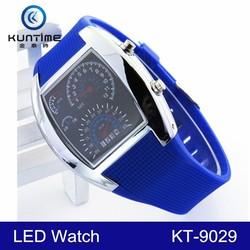 2015 hot selling speedometer watch led digital sport wrist watches
