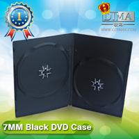 fancy cd dvd case,plastic black dvd cases,dvd case in media packaging