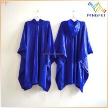 high quality vinyl PVC rain poncho
