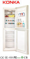 BCD-218 refrigerator with bottom freezer