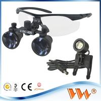 Factory supplier Doctors loupes the magnifying lens with led headlight