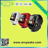 MOQ20pcs U8 Bluetooth Smart Watch U8 Watch Wrist Smartwatch for iPhone 4 4S 5 5S Samsung S4 S5 Note 2 Note 3 HTC Android Phone